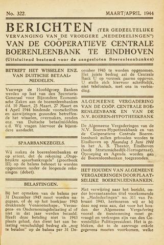 blad 'Maandelijkse Mededelingen' (CCB) 1944-03-01