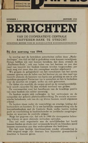 blad 'Berichten' (CCRB) 1944-01-01