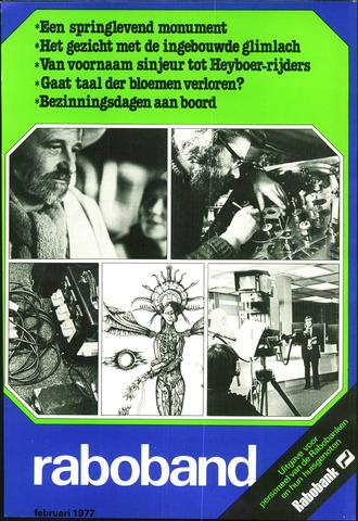 blad 'Raboband' 1977