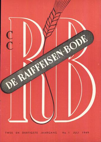 blad 'De Raiffeisen-bode' (CCRB) 1949-07-01