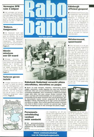 blad 'Raboband' 1991-10-07