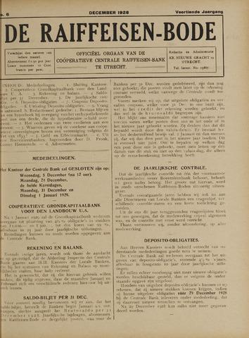 blad 'De Raiffeisen-bode' (CCRB) 1928-12-01