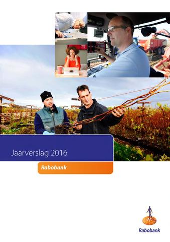 Jaarverslagen Rabobank 2016-01-01