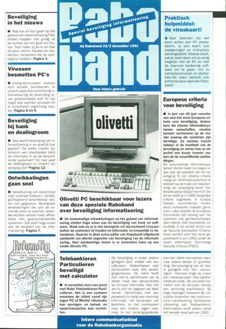 blad 'Raboband' 1991-12-02