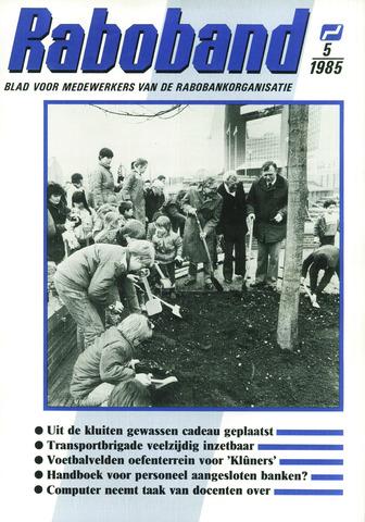 blad 'Raboband' 1985-04-10