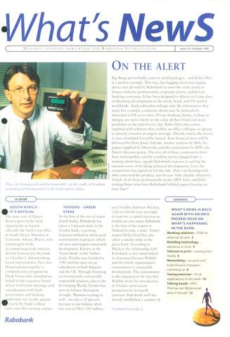 blad 'What's news' (EN) 1996-10-01