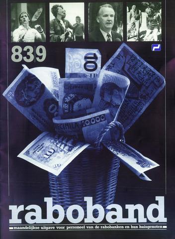 blad 'Raboband' 1983-09-01