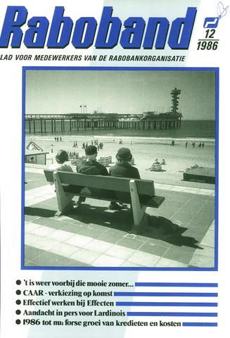 blad 'Raboband' 1986-09-03