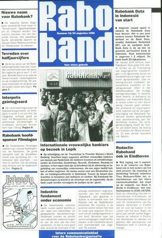 blad 'Raboband' 1990-08-24