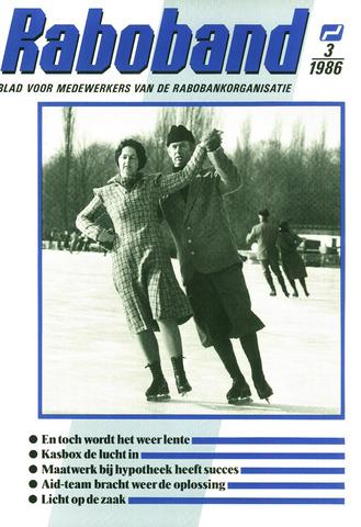 blad 'Raboband' 1986-02-26