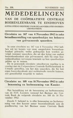blad 'Maandelijkse Mededelingen' (CCB) 1942-11-01