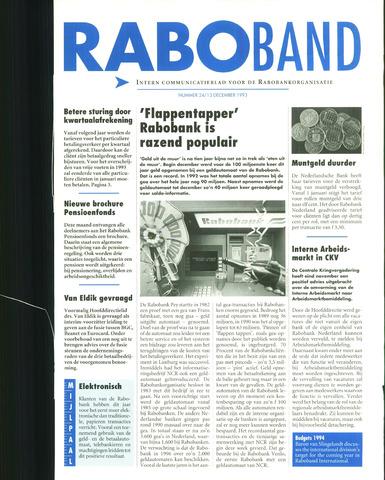 blad 'Raboband' 1993-12-13