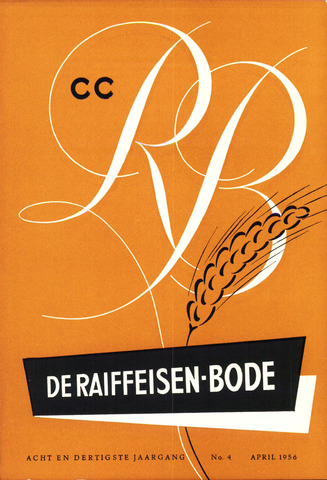 blad 'De Raiffeisen-bode' (CCRB) 1956-04-01
