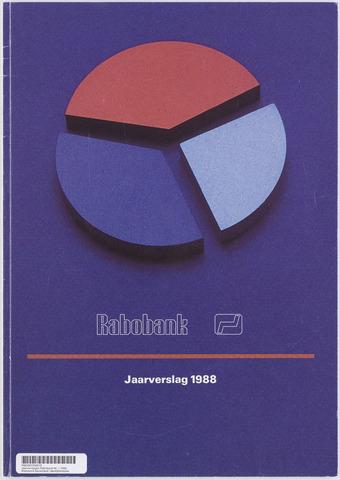Jaarverslagen Rabobank 1988-12-31