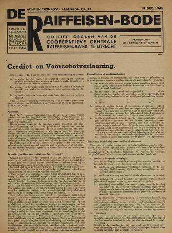 blad 'De Raiffeisen-bode' (CCRB) 1945-12-19