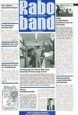blad 'Raboband' 1990-11-19