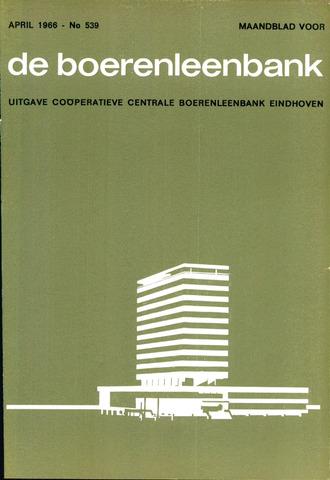 blad 'de boerenleenbank' (CCB) 1966-04-01