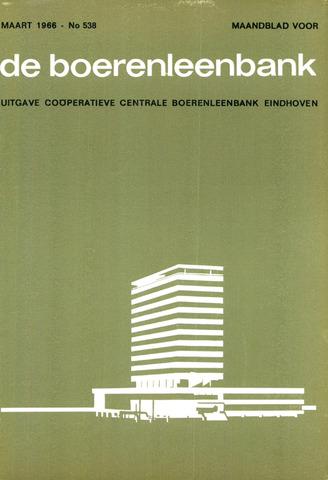 blad 'de boerenleenbank' (CCB) 1966-03-01