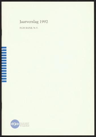 Jaarverslagen Friesch-Groningsche Hypotheekbank / FGH Bank 1992