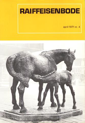blad 'De Raiffeisen-bode' (CCRB) 1971-04-01