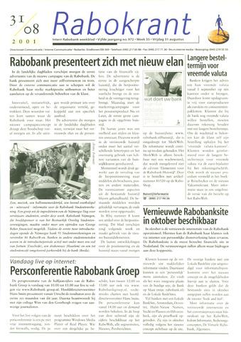 Rabokrant 2001-08-31