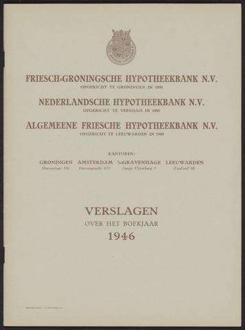 Jaarverslagen Friesch-Groningsche Hypotheekbank / FGH Bank 1946