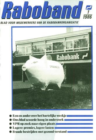 blad 'Raboband' 1986-01-15