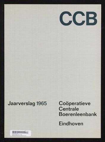 Jaarverslagen Coöperatieve Centrale Boerenleenbank 1965