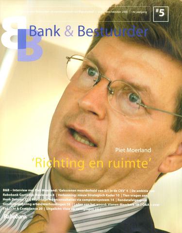 blad 'Bank & Bestuurder' 2005-09-01