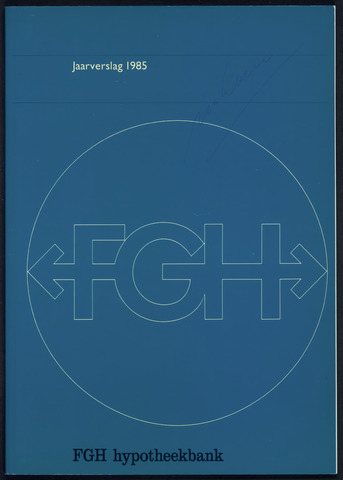 Jaarverslagen Friesch-Groningsche Hypotheekbank / FGH Bank 1985