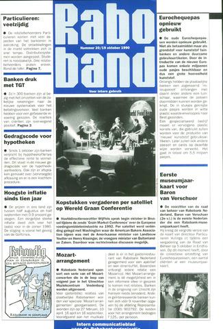 blad 'Raboband' 1990-10-19