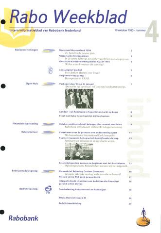 Rabo Weekblad 1995-10-19