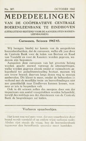 blad 'Maandelijkse Mededelingen' (CCB) 1942-10-01