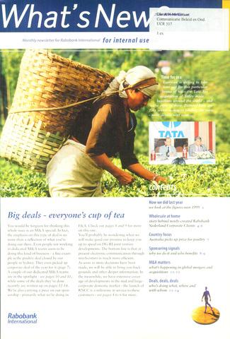blad 'What's news' (EN) 2000-03-01