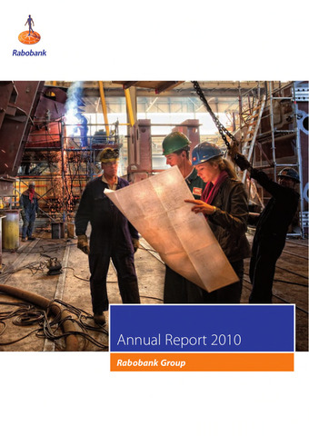 Annual Reports Rabobank 2010