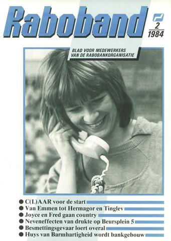 blad 'Raboband' 1984-02-08