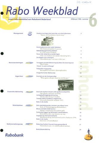 Rabo Weekblad 1996-02-08