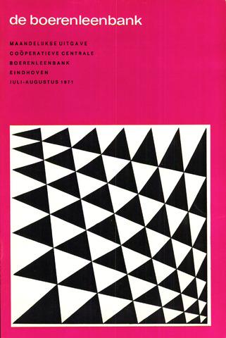 blad 'de boerenleenbank' (CCB) 1971-07-01