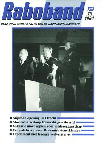 blad 'Raboband' 1984-09-26