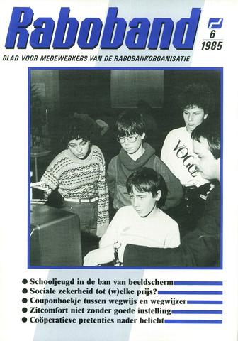 blad 'Raboband' 1985-05-01