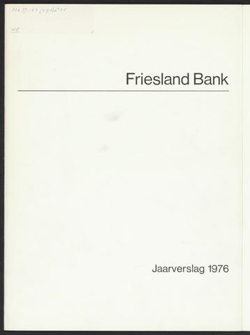 Jaarverslagen Friesland Bank 1976
