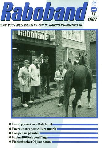 blad 'Raboband' 1987-08-12