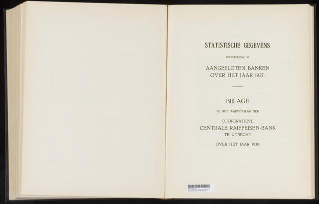 Mededelingen lokale banken CCRB 1937