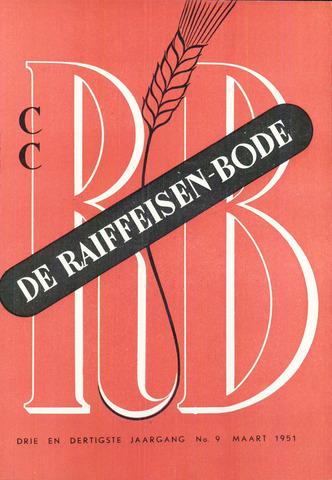 blad 'De Raiffeisen-bode' (CCRB) 1951-03-01