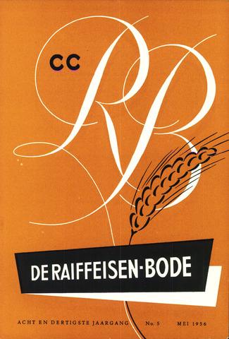 blad 'De Raiffeisen-bode' (CCRB) 1956-05-01