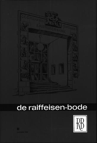 blad 'De Raiffeisen-bode' (CCRB) 1964-11-01