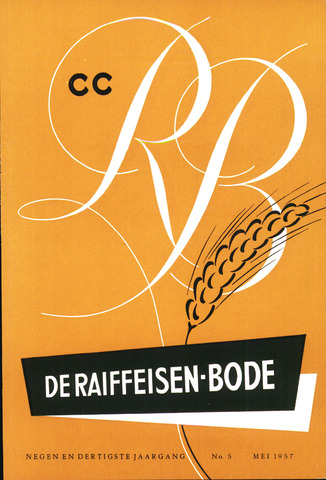 blad 'De Raiffeisen-bode' (CCRB) 1957-05-01