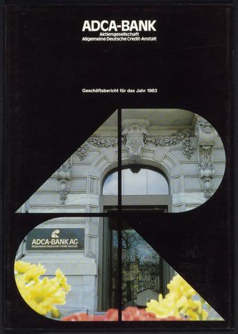 Geschäftsberichte Allgemeine Deutsche Credit-Anstalt / ADCA Bank 1983-01-01