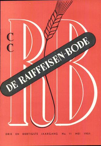blad 'De Raiffeisen-bode' (CCRB) 1951-05-01