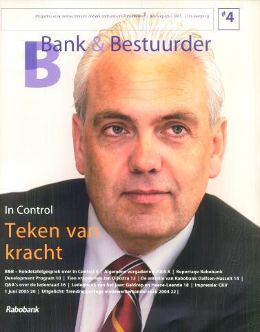 blad 'Bank & Bestuurder' 2005-07-01